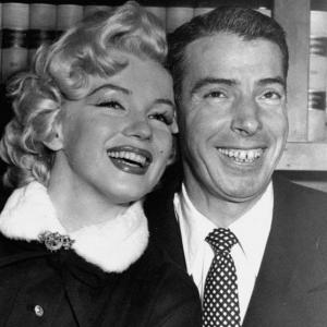 Marilyn Monroe and Joe DiMaggio exchange wedding vows and head to Japan for their honeymoon. A mere nine months later, the couple would divorce.