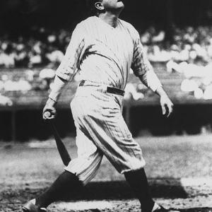 Yankees OF Babe Ruth signs a deal for $75,000 and a percentage of the exhibition gate. Legend has it the Bambino signed a blank contract with the amount filled in  by team owner Jacob Ruppert.