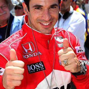 SI.com paneled some actors and sports figures for their picks for the Coke Zero 400. Here, Helio Castroneves gives us his winner....