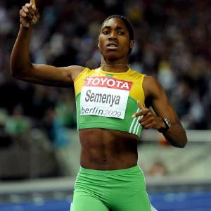 Caster Semenya has been asked by to undergo a gender test, this after she burst onto the scene by posting a world leading time of 1 minute, 56.72 seconds in the 800 meters at the African junior championships. Her case gained more attention when she won the gold medal at the world championships on Aug. 19. Here's a gallery of Semenya in action.