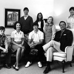 The Bowden family is shown in this 1972 photo in their home in Morgantown, WV. (Front row, from left are: Jeffrey, Ann, Steve and Bobby. Back row, from left: Tommy, Robyn, Ginger and Terry).