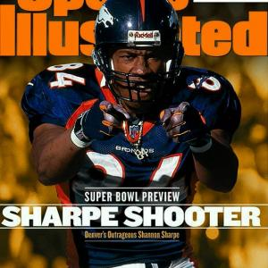 Seven tight ends were selected before Sharpe in 1990, but no player at that position ever achieved as much as Sharpe did in his 14-year career. He's the all-time leader in receptions (815), yards (10,060) and TDs (62) for a tight end, and won three Super Bowl rings with the Broncos and Ravens. Not bad for a player who was barely recruited out of high school, played at small Division I-AA Savannah State and was almost cut by the Broncos early in his career.