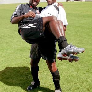 The legendary Pele met Freddy Adu in 2004 while the pair made a Sierra Mist commercial in Florida. Pele said Adu