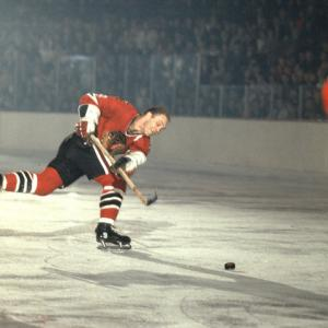 The top sports moments to happen within the city itself, including neutral-site matchups such as college bowl games, super bowls, NCAA Tournaments, etc.   On March 12, 1966, Blackhawks star Bobby Hull rocketed a 40-foot slapshot past Rangers goalie Cesare Maniago to tie the score at 2. That blast made Hull the first player in NHL history to score more than 50 goals in one season. His 51st on net moved him past Maurice