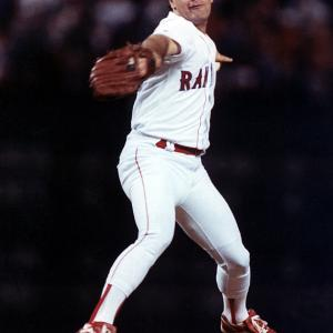 The top sports moments to happen within the city itself, including neutral-site matchups such as college bowl games, super bowls, NCAA Tournaments, etc.   Kenny Rogers pitched a perfect game against the Angels on July 28, 1994 at The Ballpark in Arlington. Rogers struck out eight batters and needed only 98 pitches.