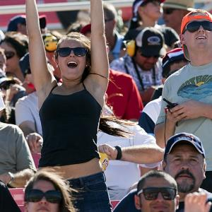 Fans headed to California's Auto Club Speedway to check out the fourth event in NASCAR's Chase for the Championship. Tony Stewart took the checkers at Fontana, while Jimmie Johnson increased his Chase lead to 36 points.