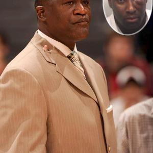 After an 85-82 Atlanta Hawks' victory over Orlando, a former NBA referee allegedly attacked Hall of Famer and current Atlanta Hawks television analyst Dominique Wilkins along press row. Rashan Michel, who is sporting a black eye in his mugshot, faces misdemeanor assault charges over the confrontation. The former official says the dispute stemmed from Wilkins' failure to pay for $12,000 in custom suits. Michel took to Twitter to make case. Tweeting at Wilkins' account (DWilkins21), Michel wrote,