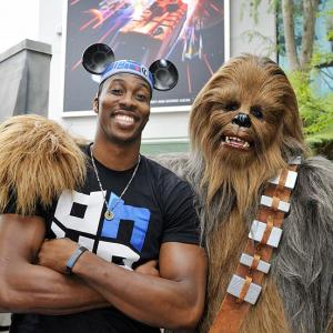 The Orlando Magic superstar, due to become a free agent after next season, was seen chatting with an agent from a rival league at Disney's Hollywood Studios in Lake Buena Vista, Fla.