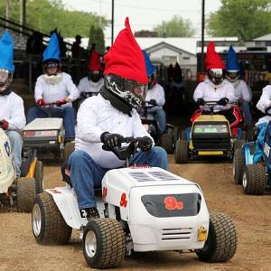 The Indy 500 has nothing on this barn-burner at Berrien County Youth Fairgrounds in Berrien Springs, Michigan.