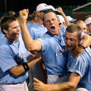 The Tar Heels reached the College World Series for four straight seasons from 2006-09, but lost in the regionals at Oklahoma last season. They rolled through this year's regionals by a combined score of 27-3, then rode strong pitching performances to sweep Stanford in the Super Regionals.