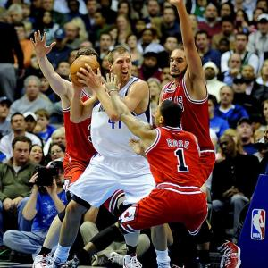Assuming the 2011-12 NBA season starts on time (unlikely at this point), it will open with a bang as last year's best regular-season team visits the defending champions. There will be no shortage of star power as reigning MVP Derrick Rose faces off against Finals MVP Dirk Nowitzki.