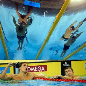 Phelps vs. Lochte will be the water-cooler debate going into the London Olympics. The world's two best swimmers should go head to head in two events -- the 200-meter freestyle and the 200 individual medley. Phelps is the defending Olympic champion in both, but Lochte won both world titles this year, becoming the alpha male of the pool in the process. Phelps and his coach, Bob Bowman, feed on any form of motivation they can find. You can bet Phelps is reminded daily about those two losses at worlds, where Lochte needed two personal bests to win by a combined half-second. Phelps said he wasn't in peak shape at that meet, but we also don't know if Lochte has reached his limit yet.