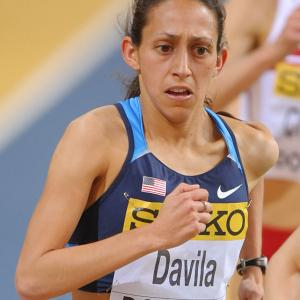Davila, 28, steadily improved since placing 13th at the 2008 Olympic marathon trials. She went on to finish fifth at the 2008 Chicago Marathon and, last year, second at the Boston Marathon in the fastest American time ever in the event. Davila's Boston time --  2:22:38 -- leads the field of 223 women vying for three Olympic spots in Houston on Saturday.
