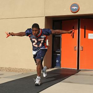 Denver's Knowshon Moreno was arrested and charged with a DUI last Sunday after allegedly driving 70 mph in a 45 mph construction zone. To make matters worse, the car he was driving had a personalized license plate that read