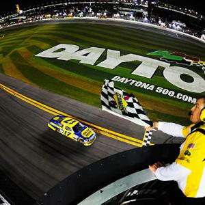 Matt Kenseth won a delayed yet highlight-filled Daytona 500 for the second time in four years. The race, originally scheduled for Sunday afternoon, didn't finish until after midnight on Tuesday. It was set back by rain all day Sunday and on Monday afternoon. During the race, a crash into a jet dryer -- and subsequent fire -- delayed action by two hours.