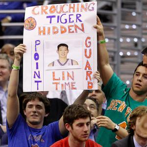 Jeremy Lin was the talk of the NBA during his 25-game stretch as a Knicks starter in 2011-12, both on and off the court. Here are some members of the Jeremy Lin Fan Club.