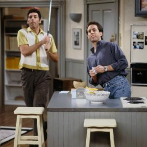 Seinfeld  was just voted the nation's funniest all-time sitcom, just edging out  The Honeymooners , according to a survey commissioned by  60 Minutes  and  Vanity Fair . The show, which was famously