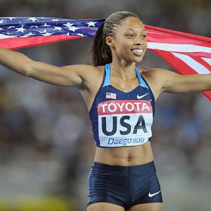 Now a three-time Olympian, the California native is one of the members trying to defend the 4x400-meter women's relay team title. Also the silver medalist in the 200 in the two previous Olympics, the 26-year-old Felix will attempt to capture the elusive individual gold in the event this time around, as well as race the 100 meter after American teammate Jeneba Tarmoh declined to take part in a run-off for the final spot on the U.S.