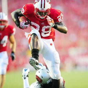 The Badgers' workhorse tied Barry Sanders' single-season record for touchdowns (39) in 2011 and led the country in yards from scrimmage with 2,229.