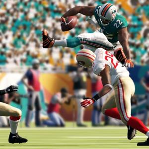It's easy to look at the Madden series as being an annual cash-in: a roster update with a few minor tweaks in a given year. The great news for football fans is that this year's edition is about as complete an experience as fans could ask for, with a wide variety of play tweaks, graphical and physics improvements that make it the best Madden of this console generation. The interface is simplified, with easy egress to the online component and a clearer selection of game modes. The most critical new mode is Connected Careers, which lets players choose or create a coach or a player and guide them through multiple seasons and, ultimately, a career. The new mode can be played online with friends or solo, and can be played in a variety of different ways, whether you like scouting new prospects and building up a team or getting your hands on the ball. It's extraordinarily flexible, and completely engrossing, and can even be managed online when gamers are away from their consoles.  The real star of Madden 13 is the new physics engine, which completely does away with the canned animations that marked previous incarnations of the series. Every hit is different and the variety of tackles, pushes, trips, jumps and swats adds huge novelty to every play. Receivers and defenders have to be looking at the ball to have a chance of a successful catch, swat or pick, which adds a needed level of strategy, but will take some getting used to. Experienced Madden players will probably throw an unusual number of picks at first, as playing QB requires patience and awareness that previous Maddens have not. The Xbox version supports Kinect at the line for calling audibles, timeouts and hot routes, but experienced players will probably find their fingers faster and more reliable.   Madden 13 really is the best version of the game in years, maybe ever, and the new innovations don't just make the game more realistic -- they make it more fun.   Score: 10 out of 10    SI Photos: Madden cover curse  