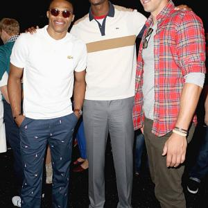 It's Fashion Week and the world's top designers have congregated in New York City. The event has also brought out some of the NBA's top fashionistas to mingle with the titans of design. From Russell Westbrook's colorful attire to the curious case of Tyson Chandler's boots, here's a look at NBA stars out and about at Fashion Week.