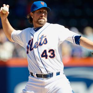 The 2012 season was one general moment of glory for the journeyman knuckleballer that climbed Mt. Kilimanjaro in the offseason, wrote a book, and then emerged as one of the most dominant pitchers of 2012. Dickey finished 2012 20-6 with a 2.73 E.R.A and led the National League with 230 strikeouts. Dickey's best stretch of the season came from the end of the May and all through June, where he recorded double-digit strikeouts in five of eight starts and won seven of those eight starts.