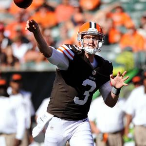 Weeden has found a groove in the past few weeks, coinciding with the emergence of Josh Gordon as a reliable outside threat who can take it to the house. The Chargers are coming off of a bye, but prior to that had allowed nine touchdown passes in their previous three games.