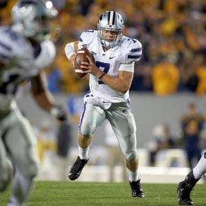 They call him Optimus Klein. He has emerged as the top dual threat quarterback in the nation and is undefeated headed into yet another Big-12 showdown this weekend. Stewart Mandel argues Collin Klein is not just a great quarterback, he is the Heisman frontrunner.
