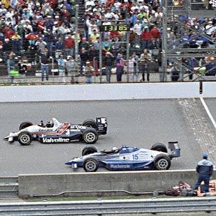 Al Unser Jr. wins 1992 Indy 500