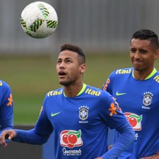 Neymar leads Brazil into the 2016 Rio Olympics