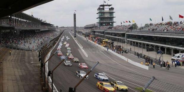 The Brickyard 400 at Indy Speedway