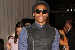 Photos: Thunder's Russell Westbrook eats up New York Fa...