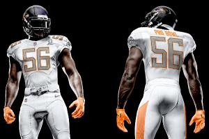 NFL unveils new Pro Bowl uniforms
