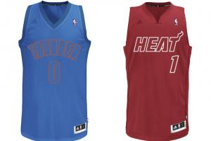 NBA's Christmas Day sleeved jersey designs by Adidas re...