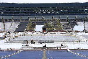 Taking the NHL Outside: The making of stadium hockey