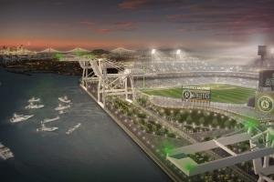 Looking at the A's proposed waterfront stadium