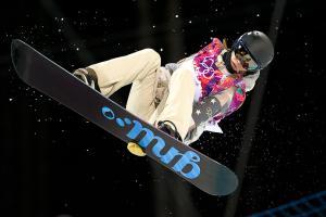 Farrington rides a slushy halfpipe to Olympic gold