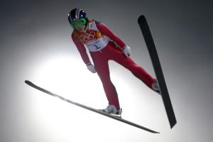 History made in first-ever women's ski jump