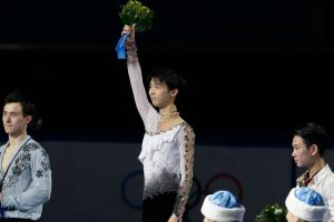 Japan's Hanyu perseveres for monumental gold