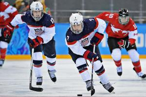 Women's USA-Canada rivalry resumes on biggest stage