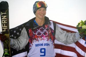 Halfpipe skier David Wise on his gold medal
