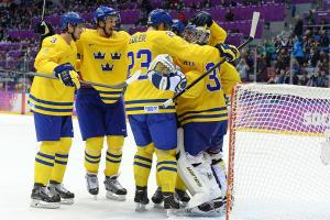 Sweden grinds down Finland, reaches gold-medal match