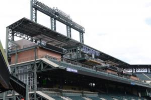 Ballpark Quirks: Taking to the rooftop deck in Colorado...