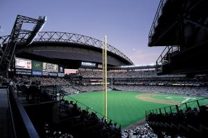 Ballpark Quirks: Safeco Field has its very own umbrella...
