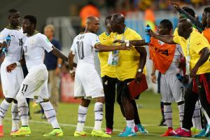 The Ghanaian FA has emphatically denied reports of a player revolt following the team's 2-1 loss to the USA.