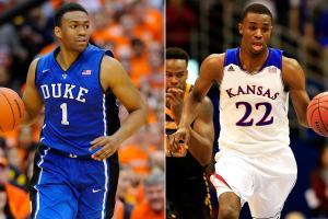 Andrew Wiggins, Jabari Parker NBA draft