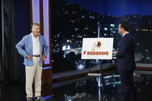 Fred Willard was one of the few people upset with Jimmy Kimmel's proposed name change for the Washington football franchise.