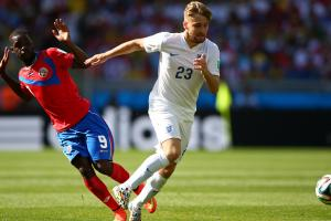 England left back Luke Shaw (23), has signed with Manchester United, making a move from Southampton, where he starred as an 18-year-old last season.