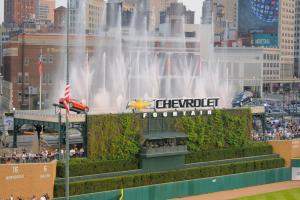 Ballpark Quirks: Comerica Park's carnival atmosphere...