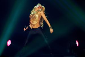 Shakira performed in 2006 in Germany, in 2010 in South Africa and will dance again this year in Brazil.